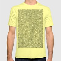 2D Pizza Mens Fitted Tee Lemon SMALL