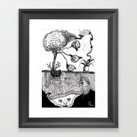 Bird Tree Framed Art Print