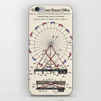 Amusement Ride Patent iPhone & iPod Skin