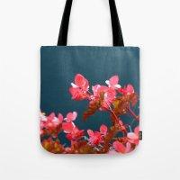 Bay Side Pink Tote Bag