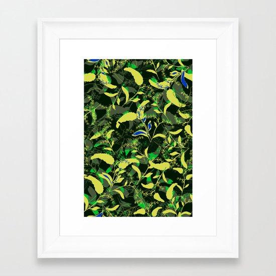Spring fell Framed Art Print