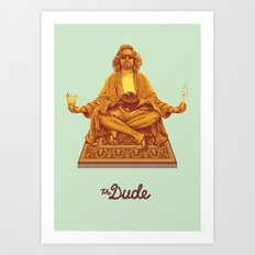 The Lebowski Series: The Dude Art Print