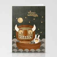 Where The Wild Things Ar… Stationery Cards