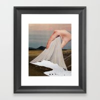 The Skin That Forms On T… Framed Art Print