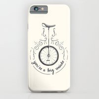iPhone & iPod Case featuring You're a Big Weirdo by Sam Lyne