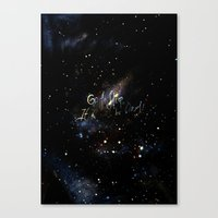 Go To Sleep,it'll Be Oka… Canvas Print