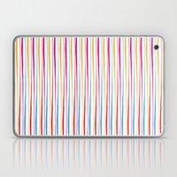 Happy Wobbly Lines II Laptop & iPad Skin
