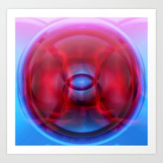 Flashforward Art Print