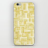Golden Doodle Weave iPhone & iPod Skin