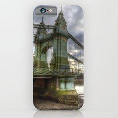 Hammersmith Bridge London iPhone 6 Slim Case