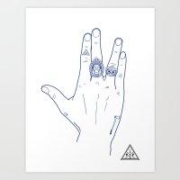 Make My Hands Famous - P… Art Print