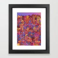 Tuna Plaza Framed Art Print