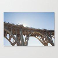 Route 66 | Colorado Street Bridge | Pasadena Canvas Print