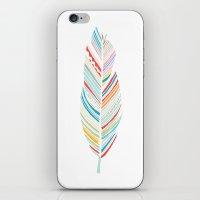 Lone Feather iPhone & iPod Skin