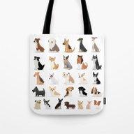 Dog Overload - Cute Dog … Tote Bag