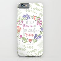 Be like a Flower iPhone 6 Slim Case