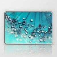Sea Blue Shower Laptop & iPad Skin