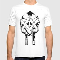 Bandit Doom Mens Fitted Tee White SMALL