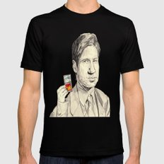 Mulder SMALL Mens Fitted Tee Black