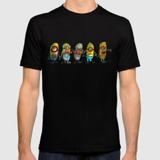 zombie minons SMALL Black Mens Fitted Tee