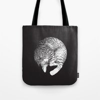 PURRFECT MOON Tote Bag