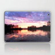 Lake Sunset Laptop & iPad Skin