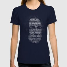 Spells: The always good one Womens Fitted Tee Navy SMALL