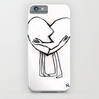 iPhone & iPod Case featuring 2 of hearts by Richard J. Bailey