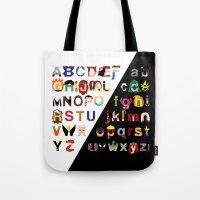Marvelphabet Tote Bag