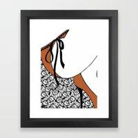 La femme n.19 Framed Art Print