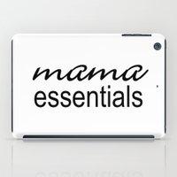 Mama Essentials Black & White iPad Case