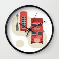 London Icon Wall Clock