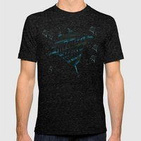 Manta ray Mens Fitted Tee Tri-Black SMALL
