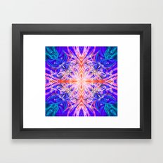 fire spirits Framed Art Print