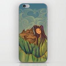 Volcano Love iPhone & iPod Skin