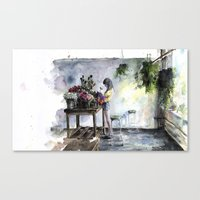 green care Canvas Print