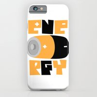 iPhone & iPod Case featuring Energy (solid version) by micheleficeli