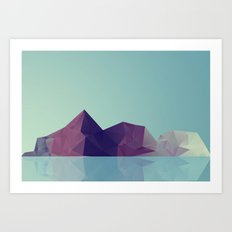 Landscape study 01. Art Print