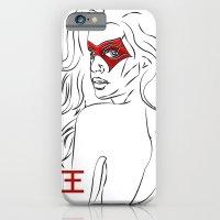 Masked Woman iPhone 6 Slim Case