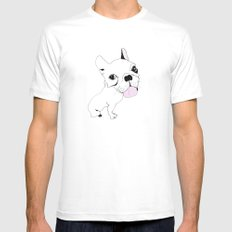 Janet White SMALL Mens Fitted Tee