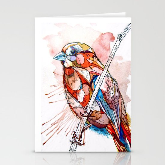Color Spiel Stationery Card