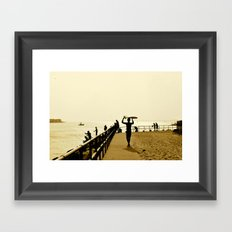 Indian River Inlet Framed Art Print