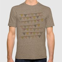 bunting fun Mens Fitted Tee Tri-Coffee SMALL