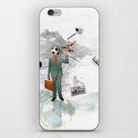 Soccer Man iPhone & iPod Skin