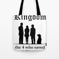 The 10th Kingdom: The 4 Who Saved the 9 Kingdoms Tote Bag
