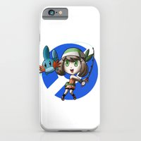 Pokemon Trainer SAPPHIRE iPhone 6 Slim Case