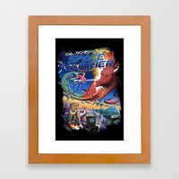 Space Harrier Framed Art Print