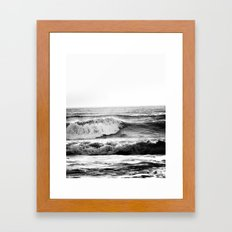 Vague Noire Framed Art Print