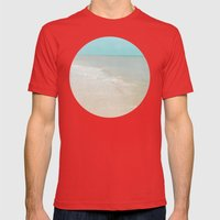 Soothe Mens Fitted Tee Red SMALL