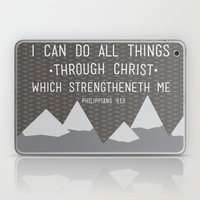 I CAN // Philippians 4:1… Laptop & iPad Skin
